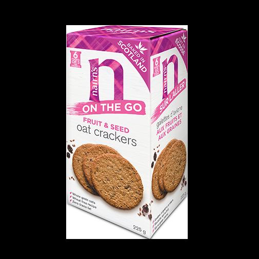 Fruit & Seed Oat Crackers >>