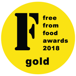 Free from food awards 2018 Gold