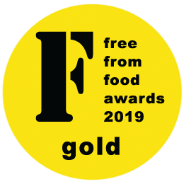 Free from food awards 2019 Gold