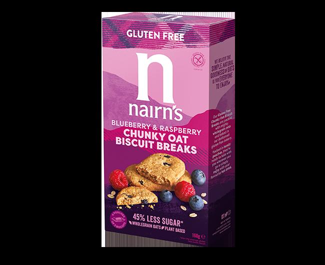 << Oats, Blueberry & Raspberry Chunky Biscuit Breaks