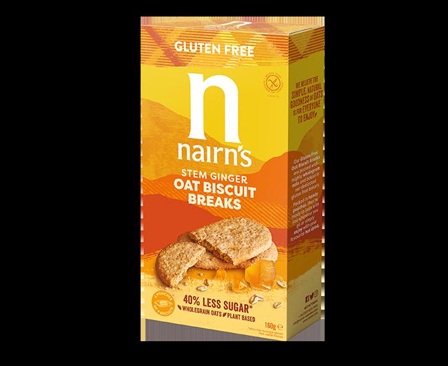 << Stem Ginger Oat Biscuit Breaks
