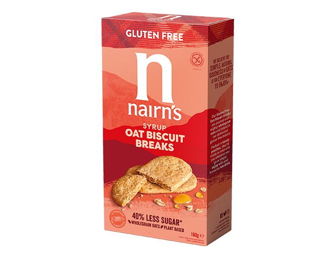 Syrup Oat Biscuit Breaks >>