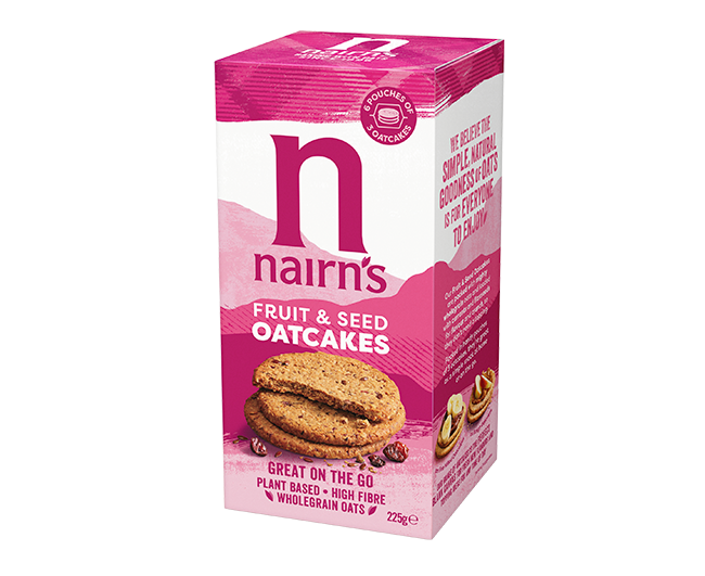 << On The Go Fruit & Seed Oatcakes
