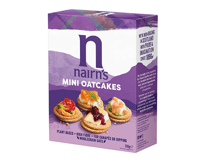 << Mini Oatcakes