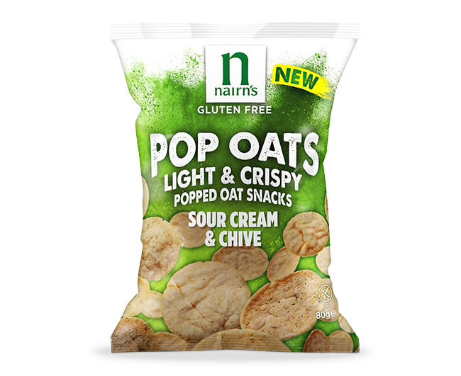 Sour Cream & Chive Pop Oats >>