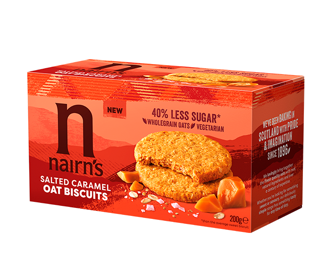 Salted Caramel Oat Biscuits >>