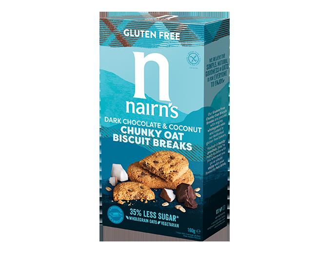 Oats, Dark chocolate & coconut >>
