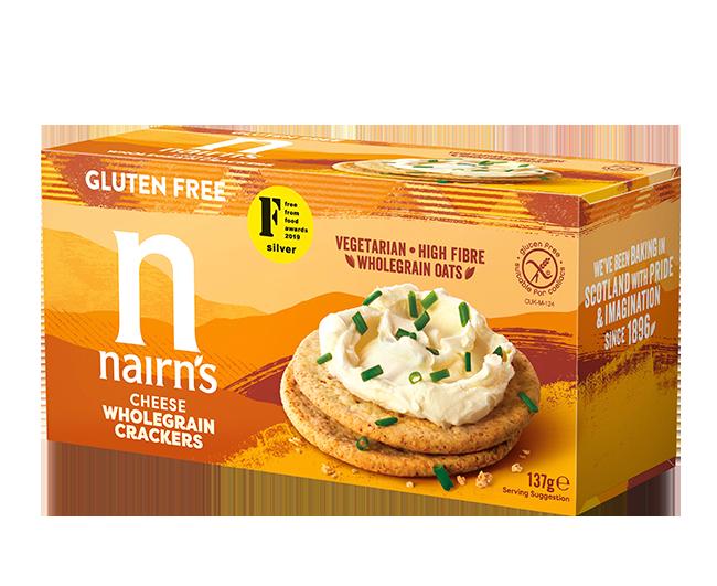 Gluten Free Cheese Crackers >>