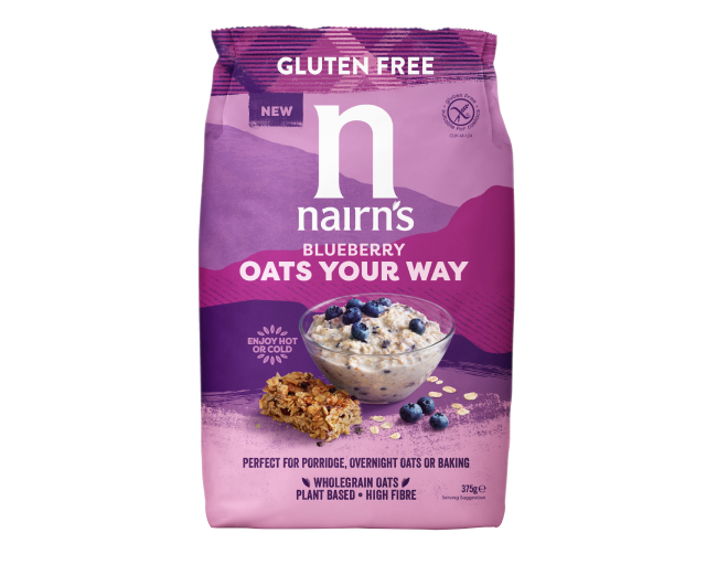 Blueberry Oats Your Way >>